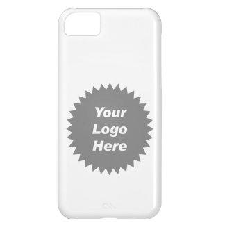 Su del negocio del logotipo promo aquí funda para iPhone 5C