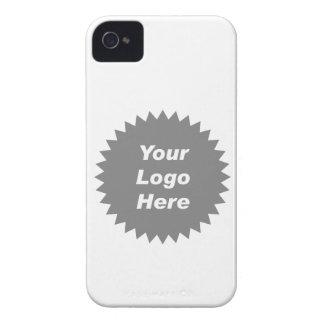 Su del negocio del logotipo promo aquí Case-Mate iPhone 4 cárcasas