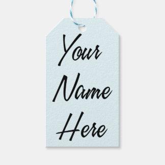 Su del nombre sistema de la etiqueta del regalo etiquetas para regalos