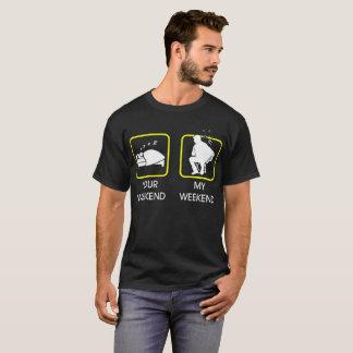 Su fin de semana mi camiseta del acordeón del fin