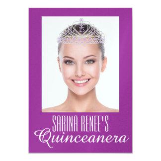 Su foto - Quinceanera Comunicados Personalizados