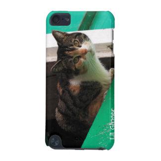 Su gato lindo del gatito de la foto del mascota fá funda para iPod touch 5G
