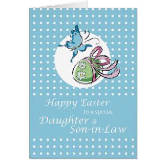 Su hija y yerno gozarán el recibir tarjeta de felicitación