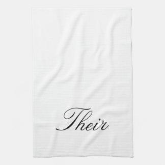 """Su """"Hir y sus"""" toallas"""
