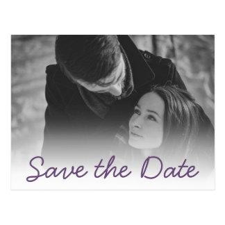 Su invitación del boda - reserva de la púrpura la