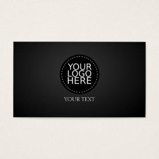 Su logotipo aquí tarjeta de negocios