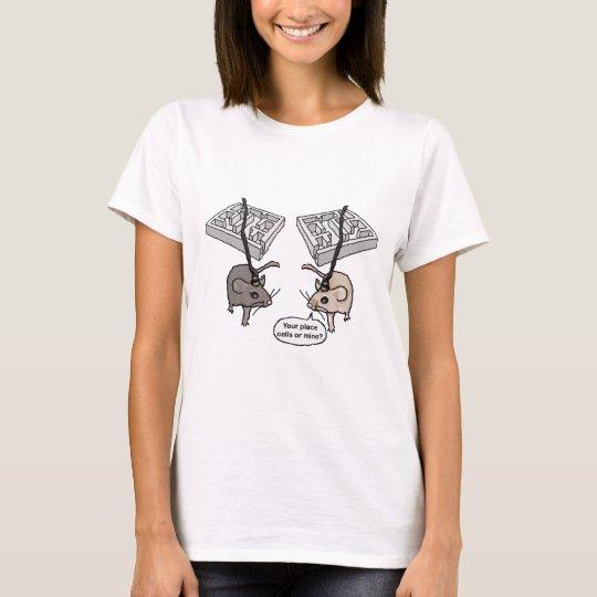 ¿Su lugar (células) o mina? Camiseta