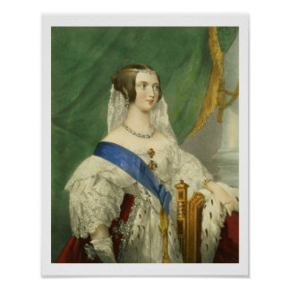 Su majestad más graciosa, reina Victoria (1819-19 Póster