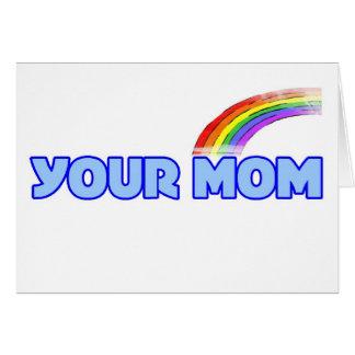 Su mamá tarjeta
