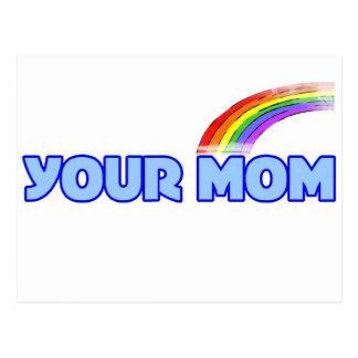 Su mamá postal