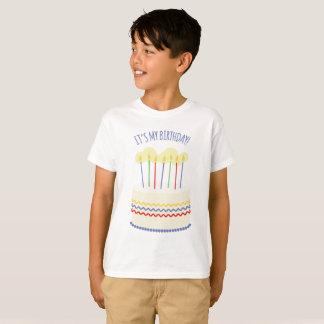 Su mi cumpleaños camiseta