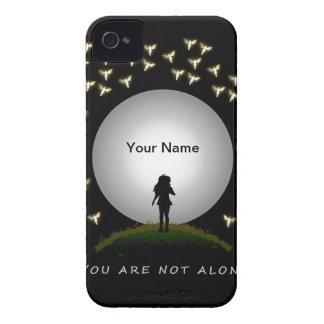 Su no es el mensaje solo del ángel iPhone 4 Case-Mate coberturas