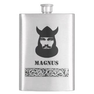 Su nombre en este frasco céltico de Viking Petaca