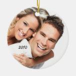 Su ornamento del navidad de la foto ornamento de navidad