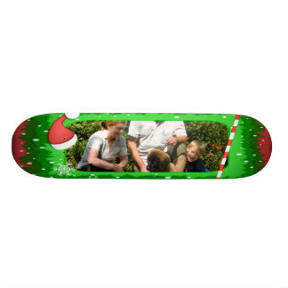 ¡Su propia foto en un marco del navidad! - Tablas De Skate