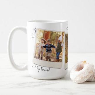 Su propio marco inmediato de la foto del vintage taza de café
