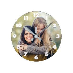 SU reloj de pared de encargo de la FOTO