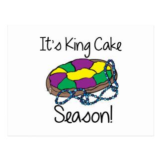 Su rey Cake Postal