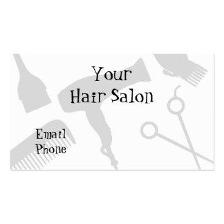 Su salón de pelo plantillas de tarjetas personales