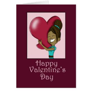 Su tarjeta grande del el día de San Valentín del