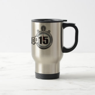 Su taza de café del acero inoxidable de Hollywood