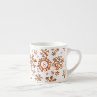 Su taza de cobre inicial de encargo del café
