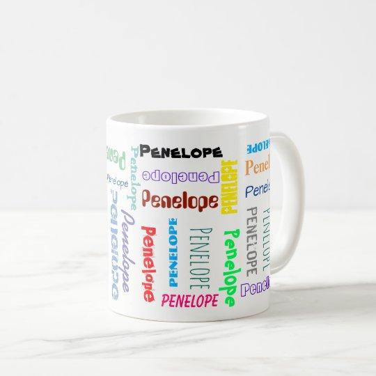 Su tipografía conocida de las fuentes de la taza de café