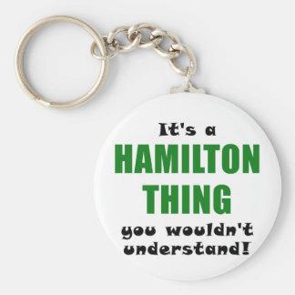 Su una cosa de Hamilton que usted no entendería Llavero
