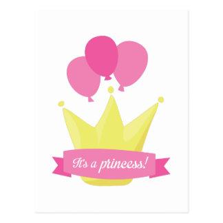 Su una princesa postal