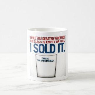 ¿Su vidrio es…? Taza De Café