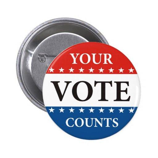 su voto cuenta política de las elecciones del pres pin