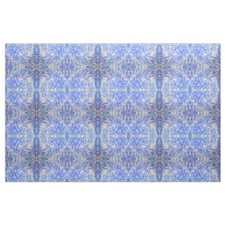Suavemente naturaleza reflejada azul tela