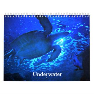 Subacuático Calendario De Pared