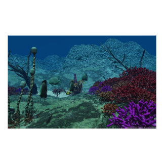 subacuático póster