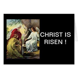 ¡Suben a Cristo, él se sube seguramente! Tarjeta