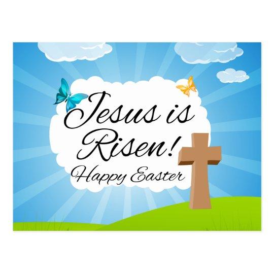 Suben a Jesús, Pascua cristiana Postal