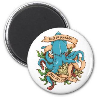Subida del pulpo del monstruo de Kraken Imanes