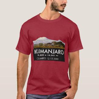 Subida personalizada del monte Kilimanjaro Camiseta