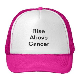 Subida sobre cáncer gorros