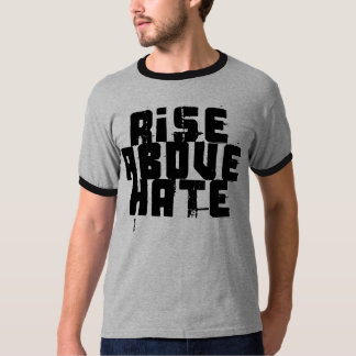 Subida sobre odio camiseta