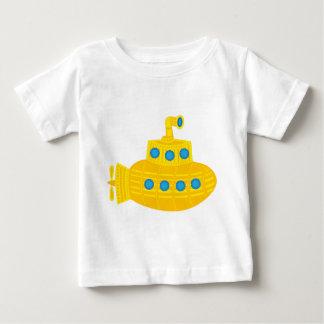 Submarino amarillo camiseta de bebé