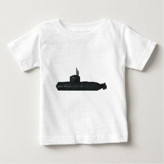 submarino camiseta de bebé