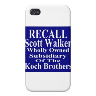 Subordinado corporativo del caminante de Scott del iPhone 4/4S Funda