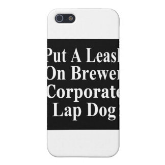 Subordinado corporativo malvado del cervecero de iPhone 5 cárcasas