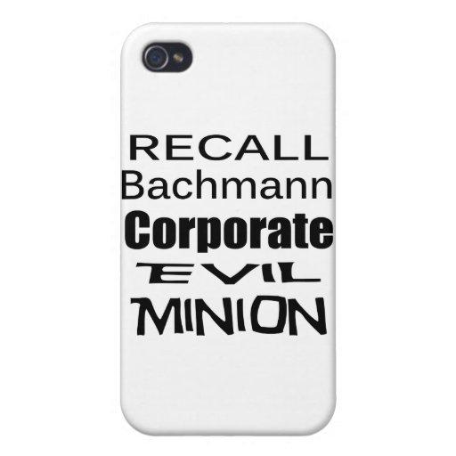 Subordinado malvado corporativo de Micaela Bachman iPhone 4 Cárcasa