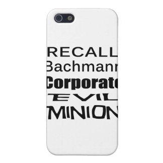 Subordinado malvado corporativo de Micaela Bachman iPhone 5 Protector
