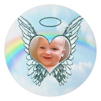 Substituya las alas y el corazón del ángel de la f anuncios