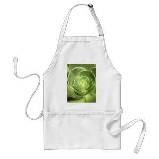 Succulent verde delantal