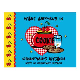 Sucede en la tarjeta de la receta de la cocina de