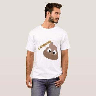 Sucede la camiseta de los hombres